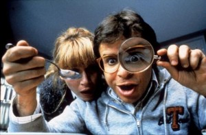 If you replace Rick Moranis with Bruce Banner or something, that sounds about right.