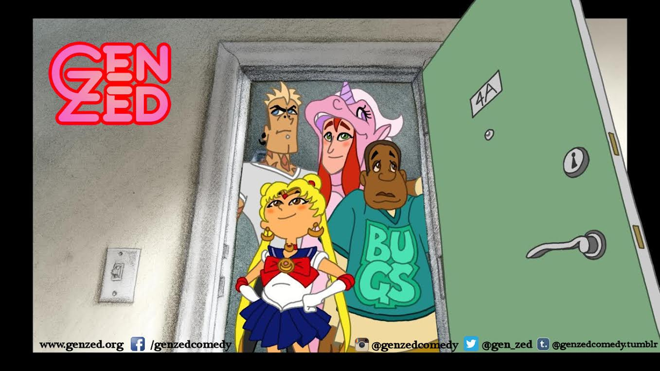 Transgender fiction animation